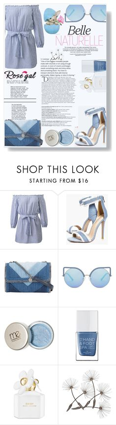 """""""Rosegal"""" by sonila-vl ❤ liked on Polyvore featuring beauty, Boohoo, STELLA McCARTNEY, Matthew Williamson, The Hand & Foot Spa, Marc Jacobs, Balmain and rosegal"""