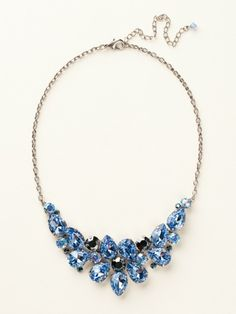 Dare To Pear Crystal Bib Necklace in Ice Blue by Sorrelli - $200.00 (http://www.sorrelli.com/products/NCP3ASIB)