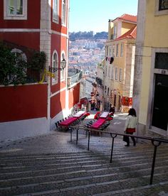 Caffe in the Stairs - Lisbon