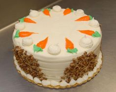 This carrot cake is from the Mamma Susi Bakeshop in Berwyn. Mamma Susi's is a storefront bakery inside the Turano Baking Company building on Roosevelt Road in Berwyn. Turano is marking 50 years in business that started small in Berwyn and is now a national company. snapshots.mysuburbanlife.com/1501416
