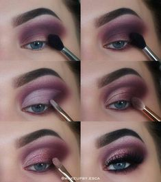 Several of our most-liked make-up celebrities compare in to provide, the best mascara hints might also think of, from application to effectively expertise. Makeup Eye Looks, Eye Makeup Steps, Pretty Makeup, Skin Makeup, Eyeshadow Makeup, Eyelashes Makeup, Purple Makeup, Eyeliner Pen, Glitter Eyeshadow