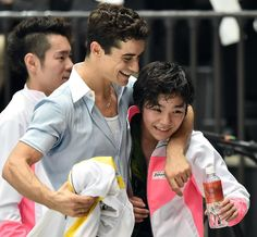 Shoma Uno(JAPAN) and Javier Fernandez(Spain) :JapanOpen2015