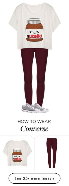 """Untitled #106"" by glittergorgeous1989 on Polyvore featuring Converse"