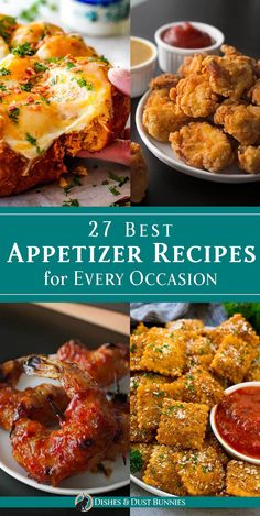 27 Best Appetizer Recipes for Every Occasion via Michelle Varga (Dishes and Dust. 27 Best Appetizer Recipes for Every Occasion via Michelle Varga (Dishes and Dust Bunnies), Best Appetizer Recipes, Yummy Appetizers, Appetizers For Party, Christmas Party Appetizers, Finger Food Recipes, Christmas Party Menu, Appetizer Dessert, Appetizer Dishes, Christmas Dishes