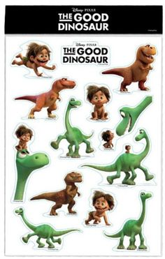"""Bring home the fun of """"The Good Dinosaur"""" with this sticker sheet. Opens in 3D Nov. 25! #DinoWeek"""