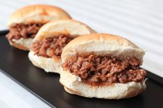 Slow Cooker Turkey Sloppy Joes - EASY and HEALTHY! www.GetCrocked.com