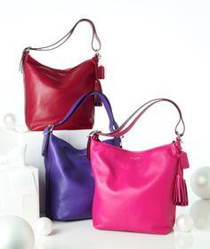 For the handbag lover: Coach #legacy #leather #bag #macys BUY NOW!