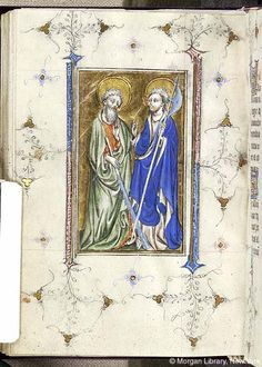 Book of Hours, MS M.866 fol. 129v - Images from Medieval and Renaissance Manuscripts - The Morgan Library & Museum
