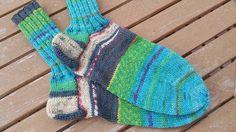 Handgestrickte Socken Socken Hundertwasser Hundertwasser