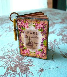 Once Upon A Pink Moon: Itty Bitty Book Tutorial