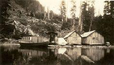 Grandpa Forberg's camp (1920s)