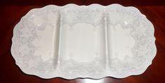Arte Italica Merletto Antique Antipasti Dish MER1440AL #ARTEITALICA