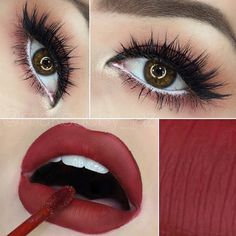 UGH!!!! Glamorous  @makeupby_jaz❤️ LIPS: she used @jeffreestarcosmetics in unicorn blood!