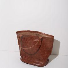 Le Vestiaire de Jeanne / Leather Basket Bag