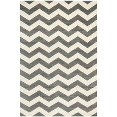 $213.11 with extra 10% off  Handmade Chevron Dark Grey Wool Rug (5 x 8) | Overstock.com  Really like this one for your living room!!!