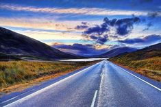 The road to Glen Carron, part of the North Coast 500