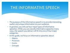 Informative Speech  Team Presentation Final