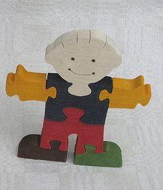 Boy Wooden Toy