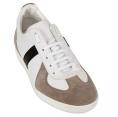Dior Homme Suede and Calfskin Sneaker, $540