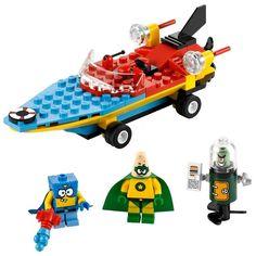 #LEGO #Sponge #Bob ve arkadaşları...  Heroic Heroes of the Deep.  http://www.vipcocuk.com/K2301,lego.html