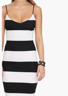 Perfect For Late Summer Nights Late Summer, Summer Nights, Classic Tuxedo, Stripe Dress, Naked, Public, Bodycon Dress, Dreams, Black And White