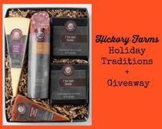 Hickory Farms and Holiday Traditions + GIVEAWAY  #giveaway #Paid