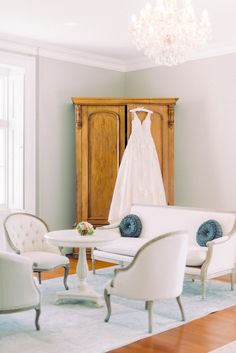 Buckingham Suite with French antique style furniture and large drawer with A line bridal gown. Fine art wedding venue in the UK Wedding Venues Uk, Beautiful Wedding Venues, Wedding Blog, Wedding Ceremonies, Destination Weddings, Perfect Wedding, Fine Art Lighting, Large Drawers, French Furniture
