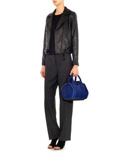 A.L.C. Blake studded leather jacket #MATCHESFASHION