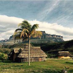 Parque Nacional Canaima. Ciudad Bolívar, Venezuela