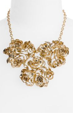 Kendra Scott 'Addy' Rose Bib Necklace via @Nordstrom #wedding