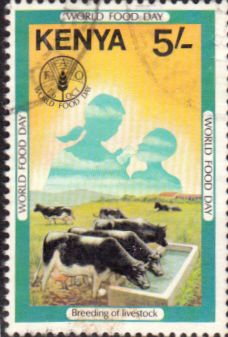 Postage Stamps Kenya 1981 World Food Day SG 219 Fine Used Scott 206 Other African Stamps HERE