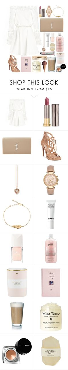 """one day we'll reveal the truth"" by airplane ❤ liked on Polyvore featuring Urban Decay, Yves Saint Laurent, Jessica Simpson, Thomas Sabo, Michael Kors, Chanel, Christian Dior, philosophy, Kate Spade and ASOS"