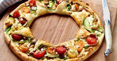 A la rédaction de 750g, nous adorons les tartes de légumes et parfois, nous avons envie de les faire dans des jolis formes, comme cette couronne.