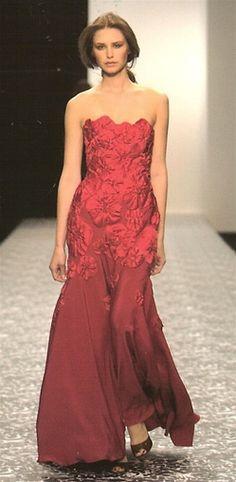 Jenny Packham Black Strapless Dress