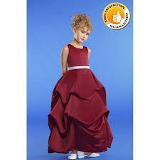 burgundy flower girl dresses - Google Search