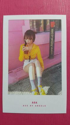 AOA JIMIN Official PHOTOCARD WEEKEND Ver. 4th Album GOOD LUCK Photo Card 지민