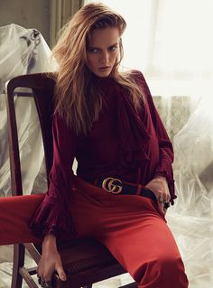 ABSOmarilyn: DARIA STROKOUS BY DAVID ROEMER FOR S MODA NOVEMBER 2015