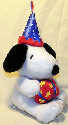 "Hallmark 9"" Happy Birthday Snoopy New Condition | eBay"