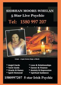 Siobhan Moore Whelan - a+ five star ... https://www.complaintsboard.com/.../1111-psychics-1580997207-siobhan-moore-wh...  May 22, 2017 - Consumer complaints and reviews about 11:11 Psychics 1580997207 Siobhan Moore Whelan in ireland. a+ five star service - a+ mind blowing experienc