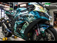 Motorcycle Decals, Motorcycle Lights, Motorcycle Design, Moto Bike, Motorcycle Bike, Sidecar, Paint Bike, Custom Sport Bikes, Zx 10r
