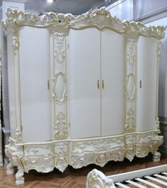 Great Barock Kleiderschrank Antik Stil Vp