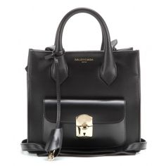 P00105541-Padlock Mini All Afternoon leather tote STANDARD Medium Purse Bag Tasche  Balenciaga Paris