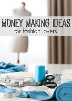 With today's technological advances, women are able to work from home in the fashion industry without any formal education. So if you've been looking for a money-making gig within the fashion industry -- here are 5 different fashion careers to try on for Make Money Blogging, Make Money From Home, Way To Make Money, Make Money Online, How To Make, Money Fast, Money Tips, Fashion Jobs, Fashion Websites