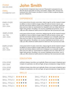 Best Resume Templates For   Resume Template Ideas  Stuff