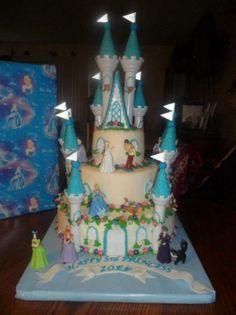 Cinderella Castle cake - Cake