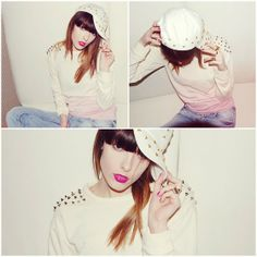 we get crazy every Friday night, yeah! (by Carolina Krews) Sheinside Sweater, Hat