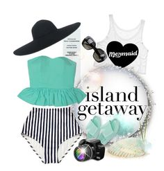 """•Let's Go! *contest*"" by designsbyqueen ❤ liked on Polyvore featuring Rika, Bottega Veneta, Melissa, fashionset, polyvorestyle, polyvorecontest and islandgetaway"