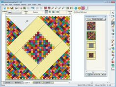 EQ7 tutorial on the Boston Commons quilt.