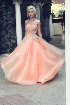Sleeveless Sweetheart Rose Pink Long Formal Occasion Prom Party Dress