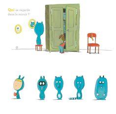 Les albums Qui Quoi Quoi / Qui Quoi Où - Olivier Tallec - Actes Sud dès 3 ans